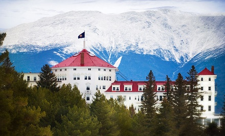 Stay at Omni Mount Washington Resort in Bretton Woods, NH, with Dates into June