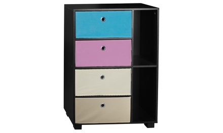 6-Section Small Bookcase