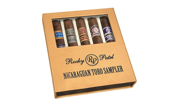 Rocky Patel Nicaraguan Cigar Gift Set (5-Pack)