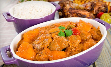 $15 for Two Groupons, Each Good for $15 Worth of Nigerian Food at Funmi's Café ($30 Value)