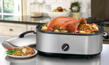 Waring Pro Professional 18Qt Stainless Steel Roaster Oven