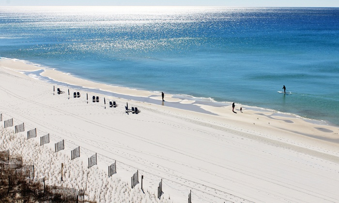 Beachfront Wyndham Hotel on Florida's Gulf Coast