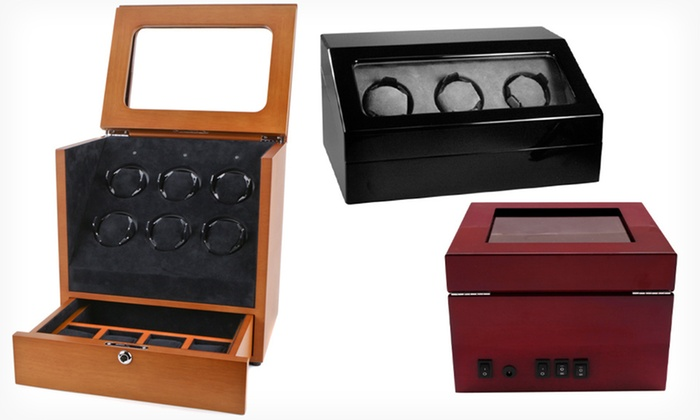 Collectors Watch Winders: Collectors Watch Winders (Up to 88% Off). Seven Styles Available. Free Shipping and Free Returns.