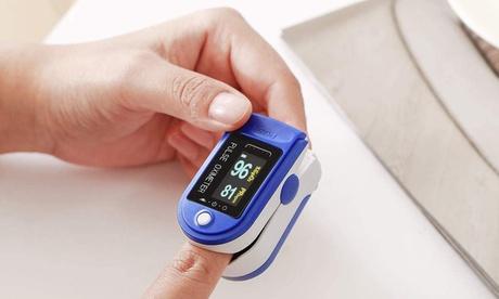 Monitor de oxígeno en sangre Generise