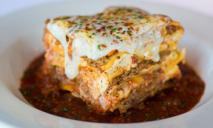 Johnny Carino's - Modesto: $10 for $20 Worth of Italian Food at Johnny Carino's