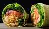 Up to 31% Off Gourmet Wraps at Get Fruity Cafe