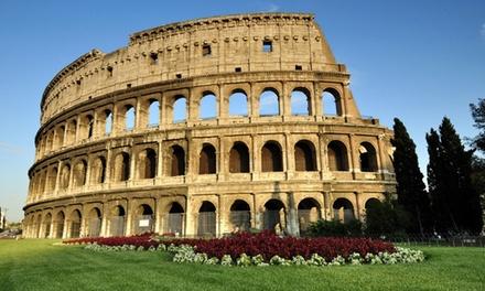 Rome: tweepersoonskamer, naar keuze met ontbijt voor 2 personen bij Hotel Apogia Lloyd Rome