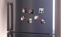 Personalisierbare Foto-Magneten 5 x 5 cm oder 7 x 7 cm von Photo Gifts (bis zu 83% sparen*)