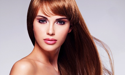 Keratin Smoothing Treatment $550 with Aftercare Treatment $150 at Halo Hair Beauty and Spa Up to $784 Value