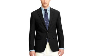 Mens Slim-Fit Fashion Blazer