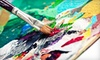 Creative Juice, Inc. - Millstone Commercial: Adult Painting Class for One or Two with Supplies and Complimentary Drink at Creative Juice (Up to 59% Off)