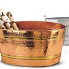 Old Dutch International Decorative Metal Party Tubs