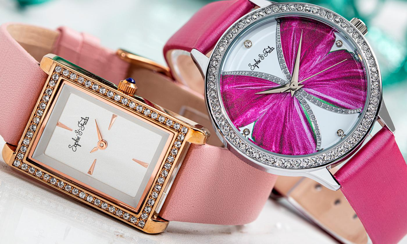 Rio Grande or Wilmington Watches with Crystals from Swarovski® With Free Delivery