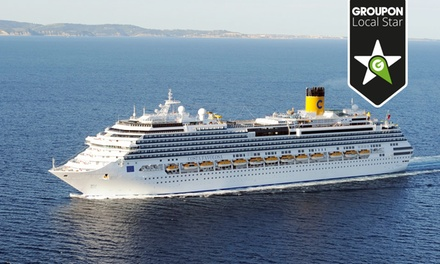 Luxury Cruise: SevenNight Italy, Croatia and Greece Cruise for Two Aboard the Costa Mediterranea