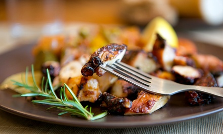 Mediterranean Food at Taverna Bistro (Up to 42% Off). Two Options Available.