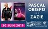 Pascal Obispo et Zazie au Festival de Nîmes