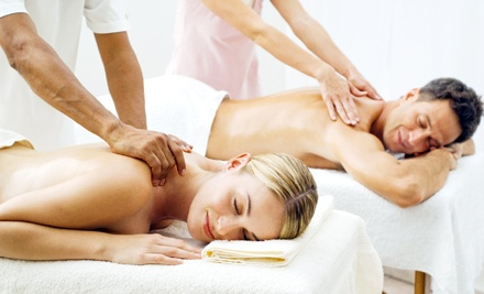 Private or Semiprivate Couples Massage Class with Two $30 Gift Certificates at The Spa Room (Up to 54% Off)
