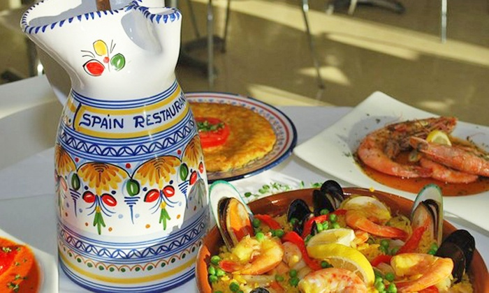 Spain Restaurant and Toma Bar - Downtown: $15 for $30 Worth of Tapas and Spanish Fare for Dinner at Spain Restaurant and Toma Bar