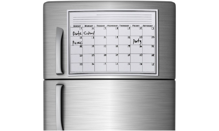 Kühlschrank Kalender : Magnetischer kühlschrank kalender groupon goods