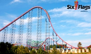 Single-day Admission To Six Flags America (37% Off)