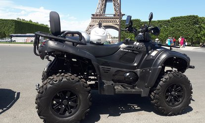 "image pour Balade d'1h30 en quad dans Paris ""Best of Paris"" ou ""Good night Paris"" en duo à 65 € avec Quad in Paris"