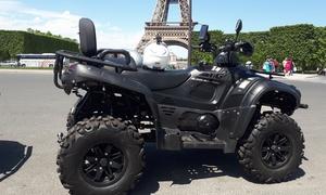 Balade d'1h30 en quad dans Paris
