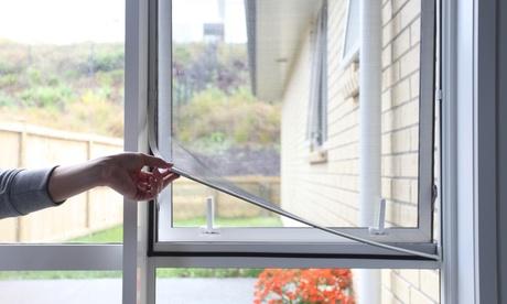 Hasta 4 mosquiteras para ventanas