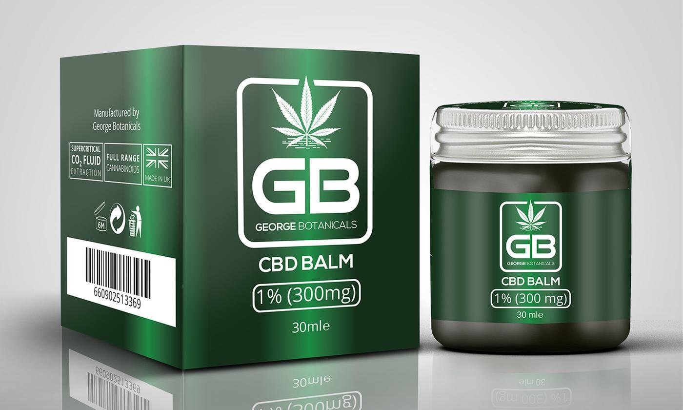 George Botanicals CBD-Infused Hemp Balm 30ml