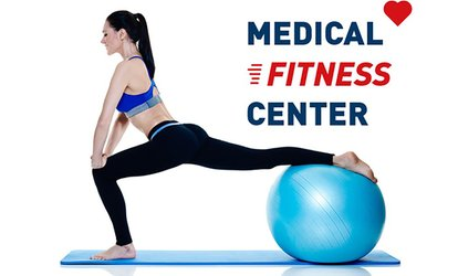 6 o 12 sedute di fitness medico o 5 sedute di pilates più visita medica con Medical Fitness Center (sconto fino a 50%)