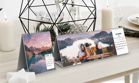 Foto-Calendario con imagen personalizable a elegir entre varios tamaños con Photo Gift (hasta 87% de descuento)