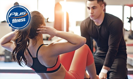 Six-Week Gym Pass + Unlimited Classes: 1 ($19) or 2 ($38), Plus Fitness, 3 Locations (Up to $203.40 Value)