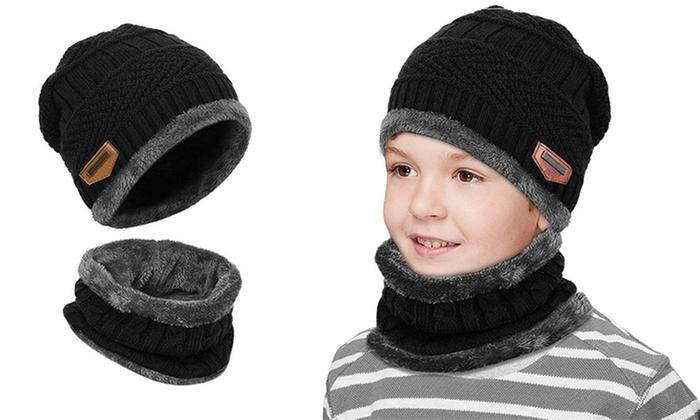 ensemble bonnet echarpe garcon nike