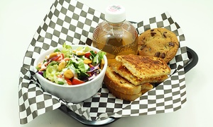 Lettuce Toss It: Gourmet Salads, Wraps, and Quesadillas at Lettuce Toss It (Up to 48% Off). Three Options Available.