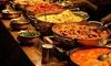 Buffet de spécialités indiennes à volonté