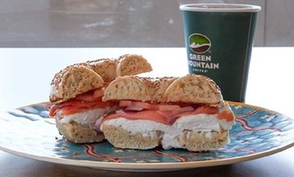 image for Bagels and Sandwiches at NY Bagel <strong>Cafe</strong> and Deli (Up to 40% Off)