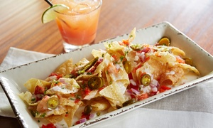 Park Street Cantina: $13 for a 36-oz. Pitcher of Margaritas and Nachos or Mexican Pizza at Park Street Cantina ($22.99 Value)