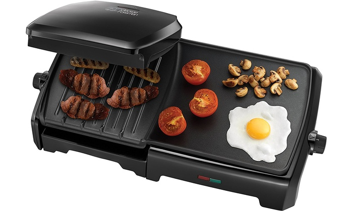 George Foreman Grill And Griddle Groupon Goods