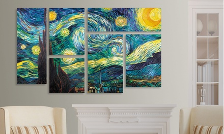 Gallery-Wrapped Canvas Art (6-Panel)