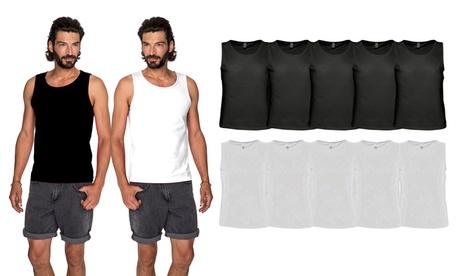 Pack de 10 camisetas sin mangas Sols