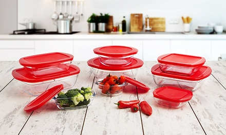 O Cuisine Nine Piece Multi Function Storage Container Set with Lids