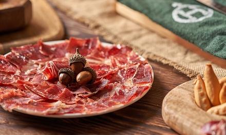 Degustación gourmet de ibéricos y vino para 2 personas por 16,95 € en 2 tiendas Viandas Fine Food