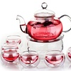 Chinese Gongfu Glass Tea Pot Set