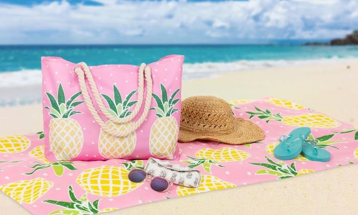 Beach Bag And Matching Towel