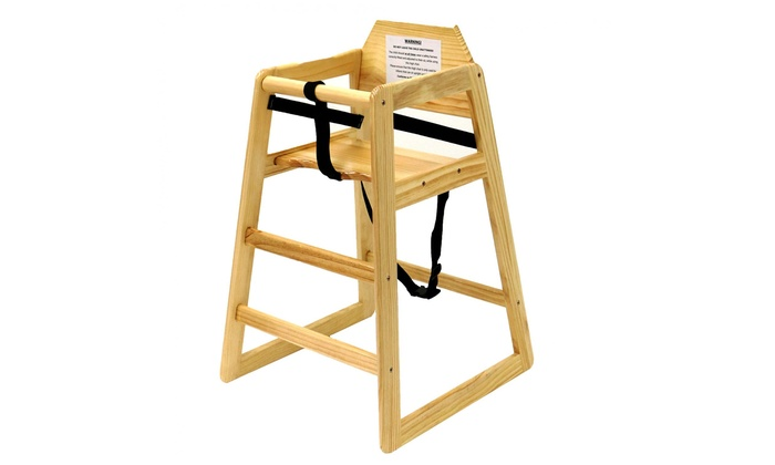 Kids' Wooden High Chair