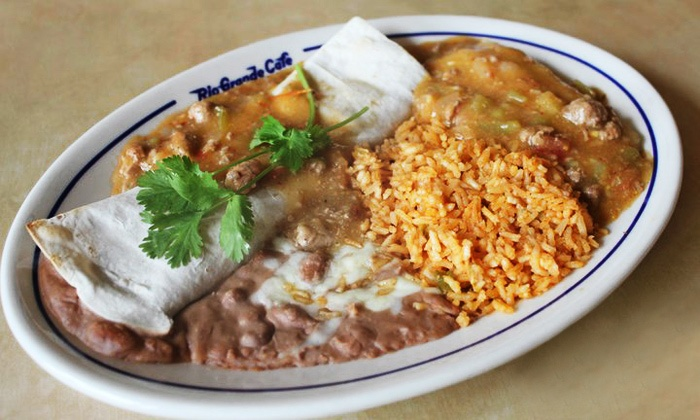 Rio Grande Cafe - Rio Grande: $15 for Two Groupons, Each Good for $15 Worth of Tex Mex at Rio Grande Cafe ($30 Total Value)