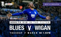 Birmingham City v Wigan Athletic, Adult Tilton Road Stand Ticket, Tuesday 7 March 2017 (Up to 25% Off)