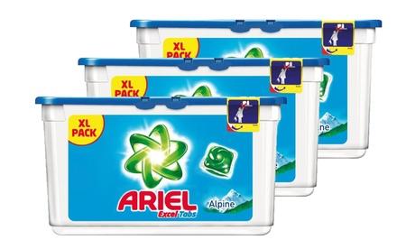 Pack de cápsulas para 5, 10 o 15 meses de detergente concentrado Ariel