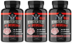Angry Supplements Monster Test Maxx Testosterone Booster
