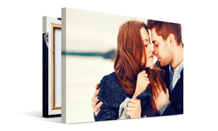 Une toile photo classique de 8 formats au choix sur Printerpix dès 1 € (jusqu'à 97% de réduction)