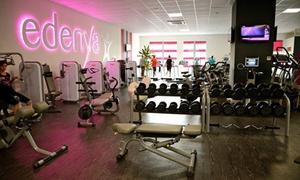 Edenya: Accès illimité à la salle de sport 7 jours sur 7, de 6h à 23h à 14,90 € au club Edenya
